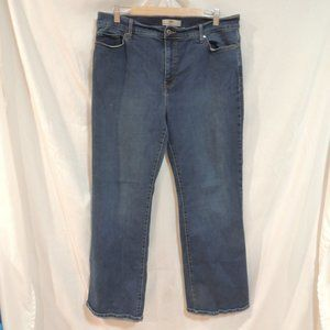 Levis Womens Perfectly slimmin 512 bootcut 18M
